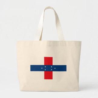 Netherland Antilles Flag Tote Bag