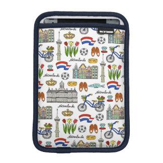Netherland Doodle Pattern iPad Mini Sleeve