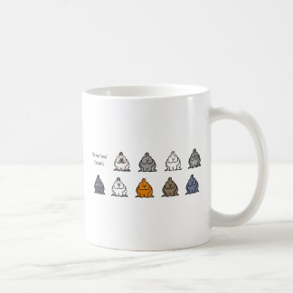 Netherland Dwarf Colours Coffee Mug