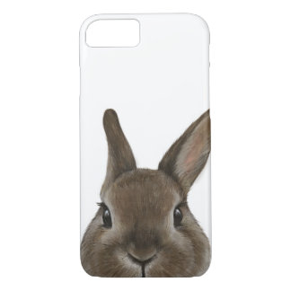 Netherland Dwarf rabbit By miart phone case