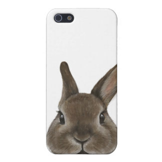 Netherland Dwarf rabbit by miat iPhone SE/5/5s Case