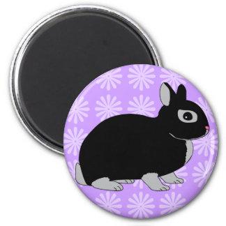 Netherland Dwarf Rabbit Magnet