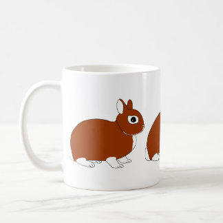 Netherland Dwarf Rabbit Mug