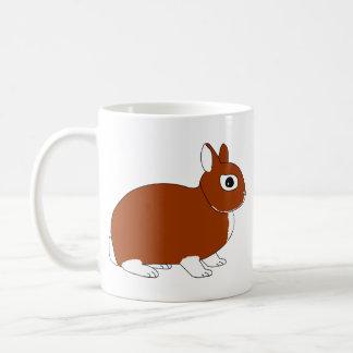 Netherland Dwarf Rabbit Coffee Mugs