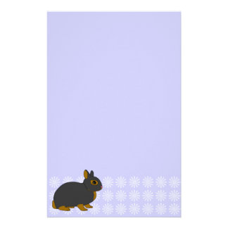 Netherland Dwarf Rabbit Stationery