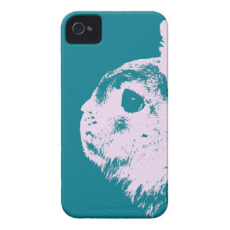 Netherland dwarf rabbit teal Case-Mate iPhone 4 case