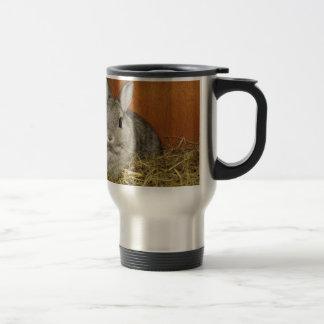 Netherland Dwarf Rabbit Travel Mug