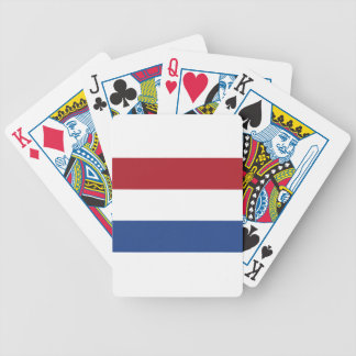 Netherland Holland Patriotic Pattern Bicycle Playing Cards