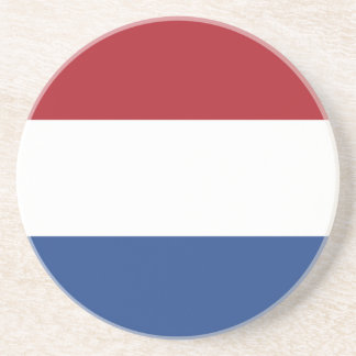 Netherland Holland Patriotic Pattern Drink Coaster