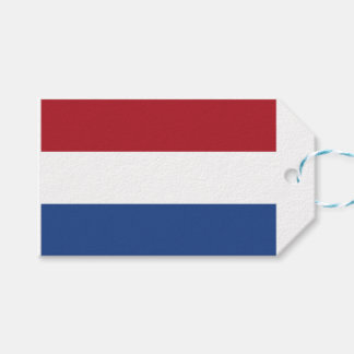 Netherland Holland Patriotic Pattern Gift Tags