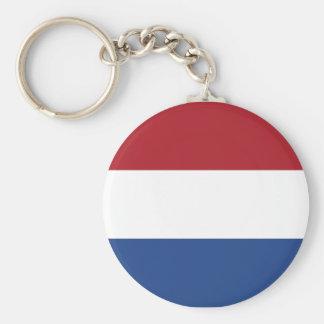 Netherland Holland Patriotic Pattern Keychain