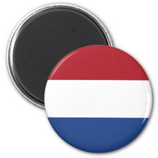 Netherland Holland Patriotic Pattern Magnet