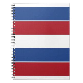 Netherland Holland Patriotic Pattern Notebook