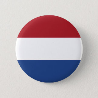 Netherland Holland Patriotic Pattern Pinback Button