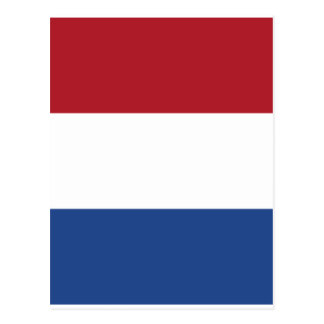 Netherland Holland Patriotic Pattern Postcard
