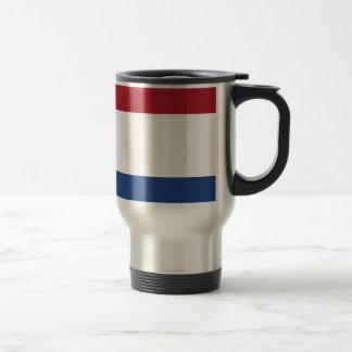 Netherland Holland Patriotic Pattern Travel Mug