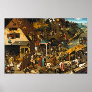 netherlandish-proverbs-1559.jpg poster