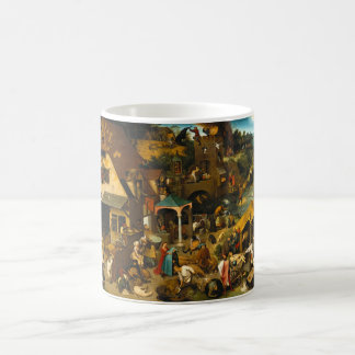 Netherlandish Proverbs by Pieter Bruegel the Elder Coffee Mug