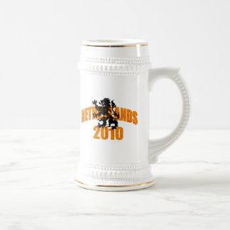 Netherlands 2010 Lion Polka Dot Tees and Gifts Coffee Mug