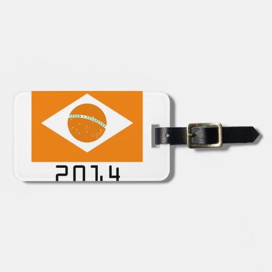 netherlands 2014 luggage tag