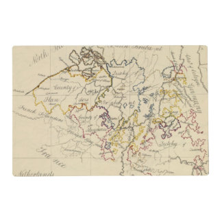 Netherlands 3 laminated placemat