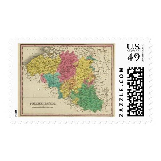 Netherlands 6 stamp