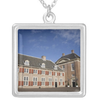 Netherlands (aka Holland), Apeldoorn near 3 Square Pendant Necklace