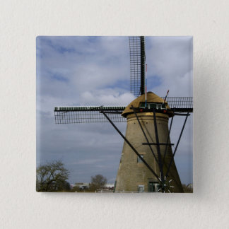Netherlands (aka Holland), Kinderdijk. 19 Button