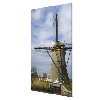 Netherlands (aka Holland), Kinderdijk. 19 Canvas Print