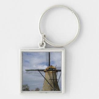 Netherlands (aka Holland), Kinderdijk. 19 Keychain