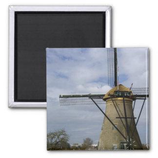 Netherlands (aka Holland), Kinderdijk. 19 Magnet