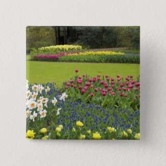 Netherlands aka Holland), Lisse. Keukenhof 5 Pinback Button