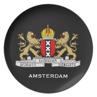 Netherlands, Amsterdam Collector's Plate