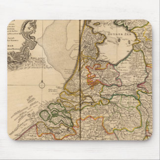 Netherlands and Belgium Mouse Pad