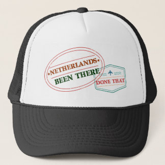 Netherlands Antilles Been There Done That Trucker Hat