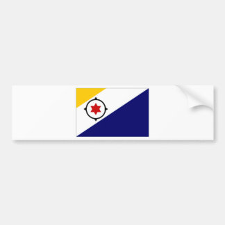 Netherlands Antilles Bonaire Flag Bumper Sticker