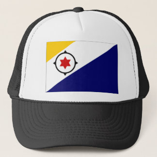 Netherlands Antilles Bonaire Flag Trucker Hat