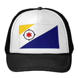 Netherlands Antilles Bonaire Flag Trucker Hat