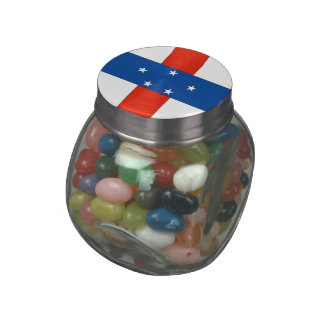 Netherlands Antilles Jelly Belly Candy Jar