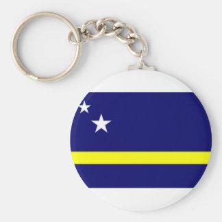 Netherlands Antilles Curaccedilao Flag Key Chain