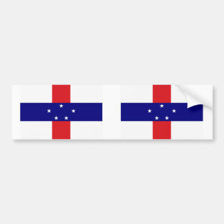Netherlands Antilles flag Bumper Sticker