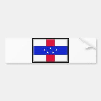 Netherlands Antilles Flag Bumper Stickers