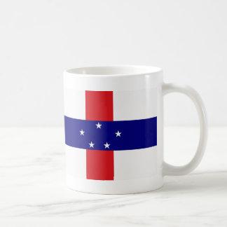 Netherlands Antilles Flag Coffee Mug