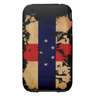 Netherlands Antilles Flag iPhone 3 Tough Cases