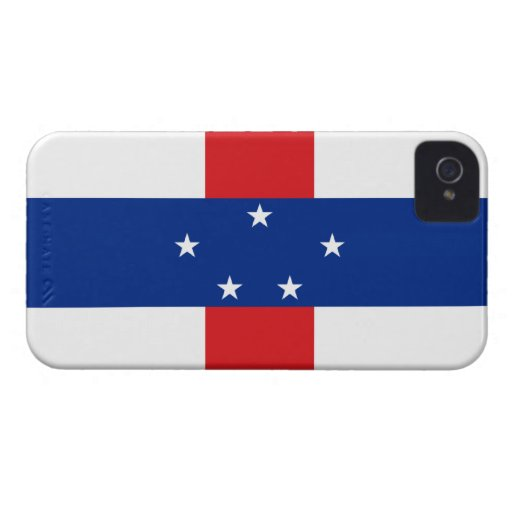 Netherlands Antilles Flag iPhone 4 Cover