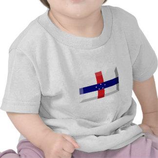 Netherlands Antilles Flag Jewel Shirts