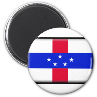 Netherlands Antilles Flag Refrigerator Magnets
