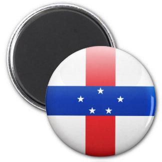 Netherlands Antilles Flag Refrigerator Magnet