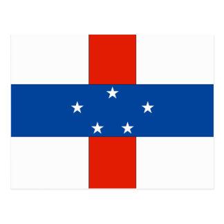 Netherlands Antilles Flag Post Cards