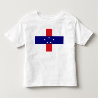 Netherlands Antilles Flag Toddler T-shirt